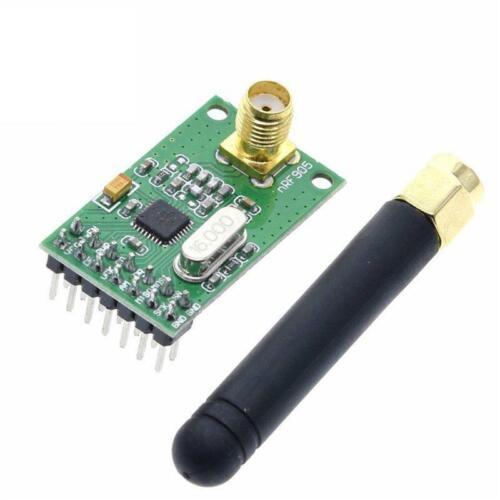 433//868//915MHz Transmitter Receiver NRF905 Wireless Transceiver Module PTR8000