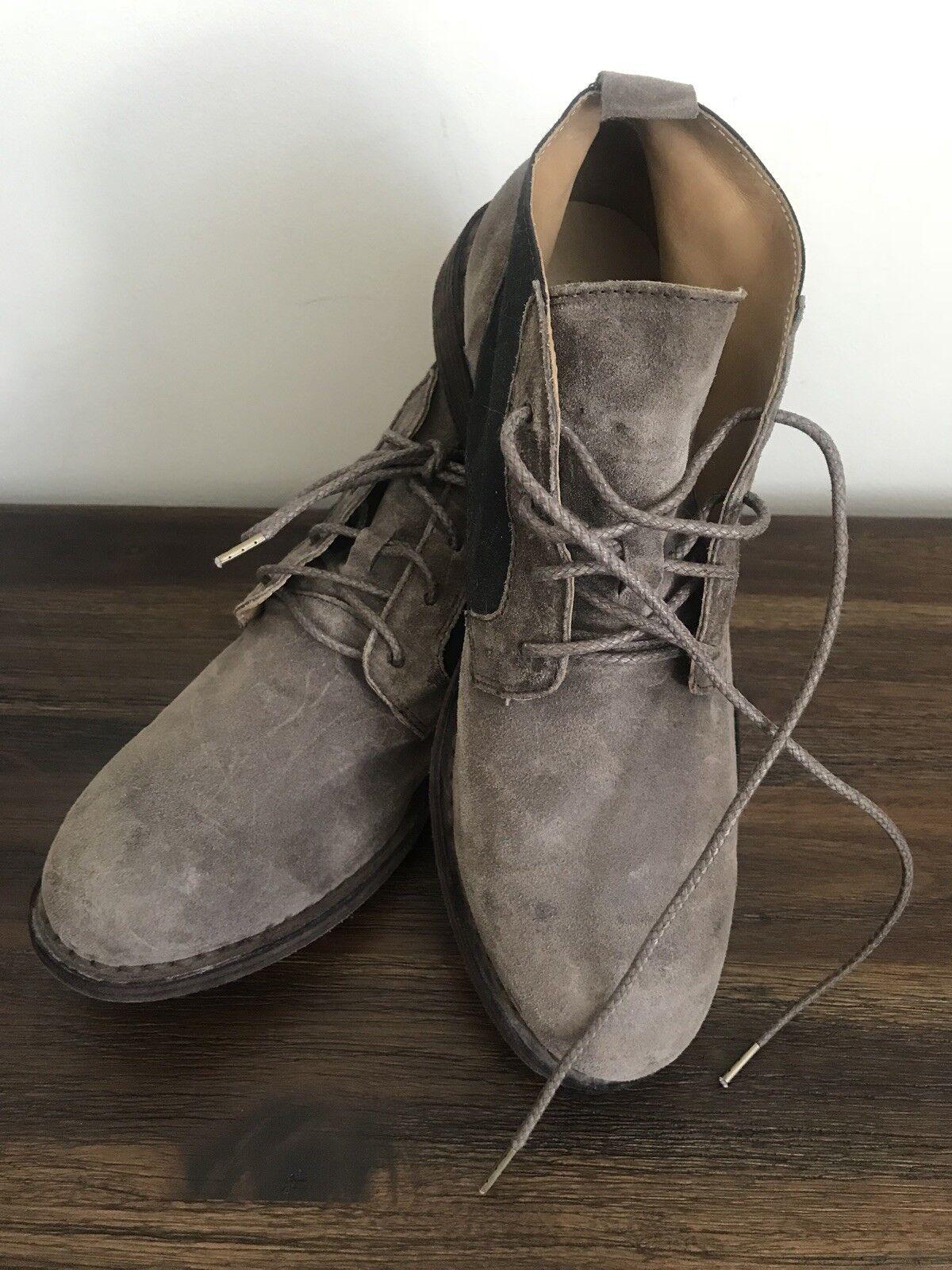 Rag & Bone Para hombre Zapatos botas De Gamuza Hecho a Mano