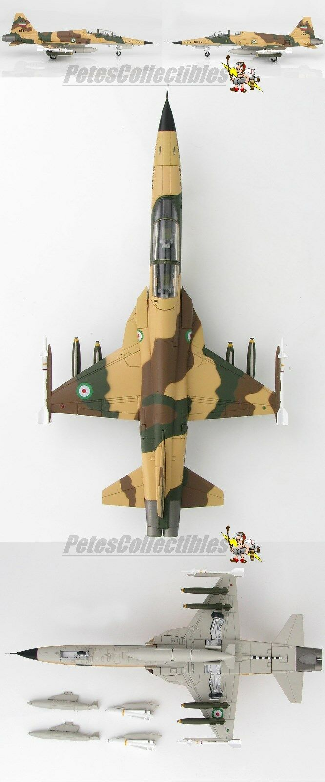 Hobby - meister ha3357 northrop f - 5f tiger ii 3-7155, 43. tfs, islamischen iranischen af