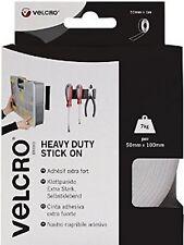 Velcro Heavy-Duty Stick On Tape 50mm x 1m Black VEL60241