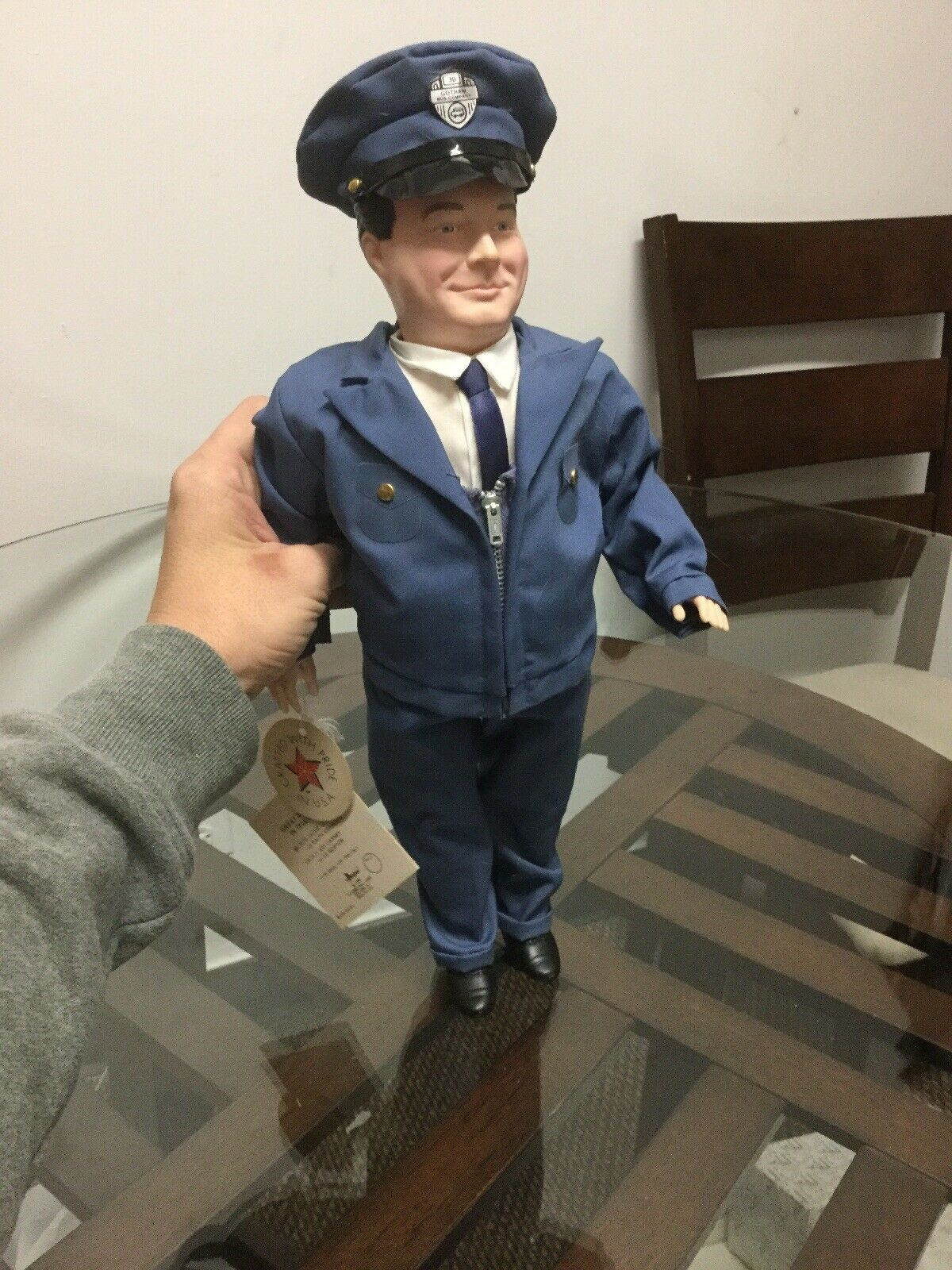 Effanbee Doll 16  Jackie Gleason as Ralph Kramden in The Honeymooners 1986  7670