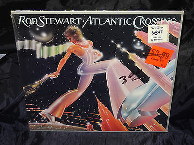 Rod Stewart ATLANTIC CROSSING SEALED USA 1975 1ST PRESS VINYL LP W/ NO BARCODE