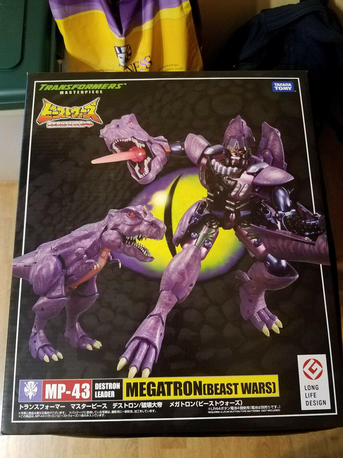 Transformers Takara Masterpiece MP-43 MEGATRON Beast Wars Destron Leader MISB