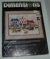 Dimensions Summer Memories Charles Wysocki Stamped Cross Stitch Kit
