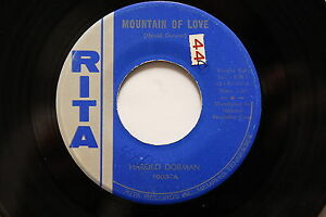 Harold Dorman - Mountain Of Love / To Be With You