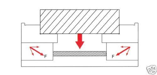 Zentrischspanner 60 mm auf Drehteller  für Mehrachsenbearbeitung