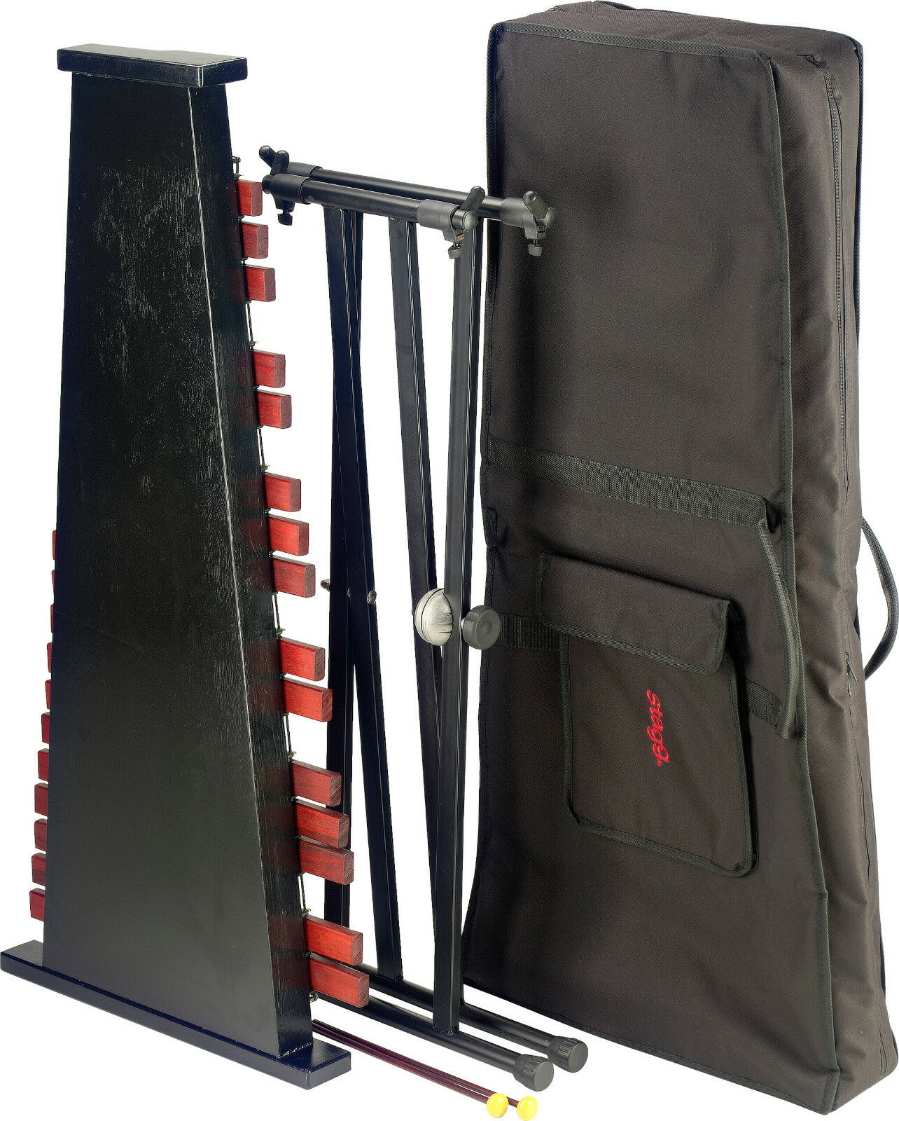 XYLOPHON STAGG STAGG STAGG XYLO-SET 37 Xylophone mit Tasche 98ba34