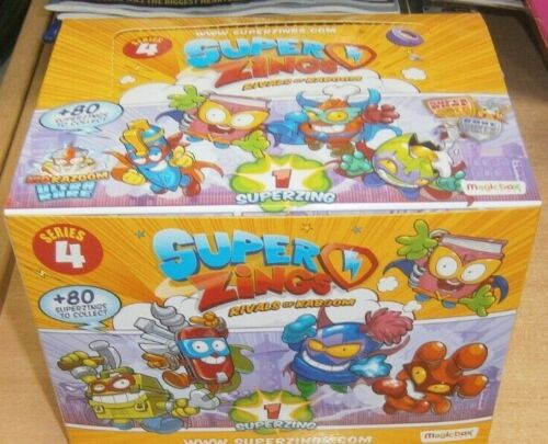superzings rivaux de Kaboom série 4 Individual superzings Full Box 50 paquets