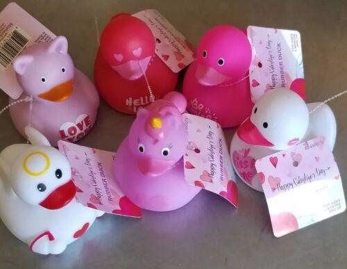 RUBBER DUCKS DUCKY Duckies Valentine Love Unicorn Theme kids bath pool spa 6