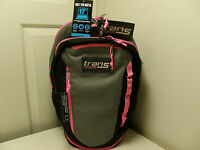 Jansport Backpack Black, Grey, & Pink 689914103825 T51x1j0