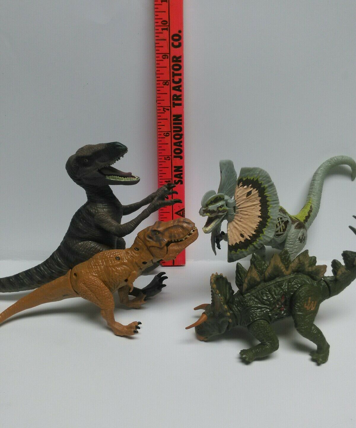 Lot of of of 4 Kenner Jurassic World Dinosaur T Rex action figures Toy Lot JW 2272cd