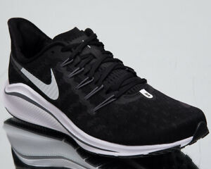 a6f3449d2efa6 Nike Air Zoom Vomero 14 Men s New Black White Grey Running Sneakers ...