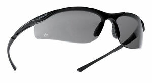 Bolle-Contour-Smoke-Shaded-Safety-Glasses-amp-pouch