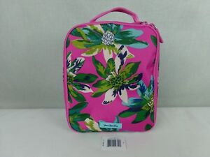 Vera-Bradley-LUNCH-BUNCH-Tropical-Paradise-Bag-Pink-Floral