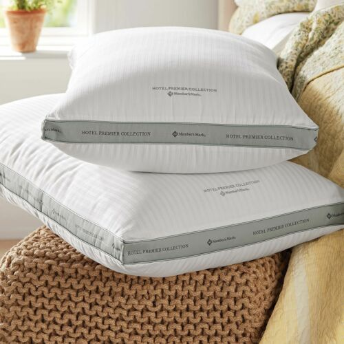 Hotel Premier Collection Queen Pillows by Member/'s Mark 2-pk.