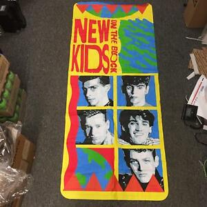 New-Kids-On-The-Block-1990-Big-Step-Winterland-Rock-Express-Swimming-Adult-Float
