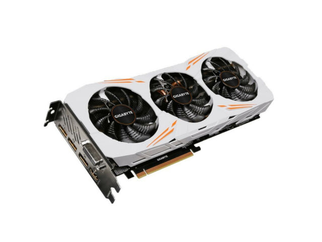 GIGABYTE NVIDIA GeForce GTX 1080 Ti Gaming OC (11GB) Graphic Card (used)