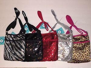 Sequin Red, Silver, Black, Zebra, Leopard Shoulder Bag Purse