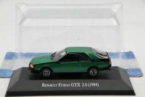 IXO-ALTAYA-1-43-Renault-Fuego-Gtx-2-0-1984-Verde-Diecast-modelos-Edicion-Limitada