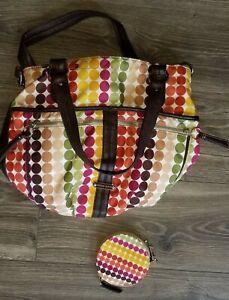 Franco Sarto Purse Crossbody Bag Multi