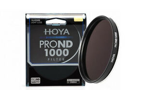 HOYA-Graufilter-Pro-ND1000-77mm-77-NDX1000-Filter-neutrale-Dichte-Density