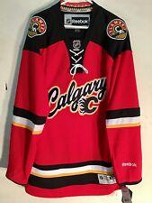 Reebok Premier NHL Jersey Calgary Flames Team Red Alt sz L