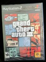 Play Station 2 Game :grand Theft Auto 3; Sealed; Complete