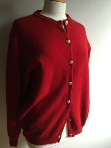 di indossato Cardigan come qualità Johnstons una Scotland indossato lambswool Of volta alta abbigliamento 100 qPwXqr