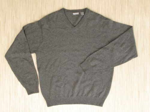 larga con Casual Sweater Ch Grey en manga Classics Cashmere Hombres v L de Camiseta cuello vxzqgw