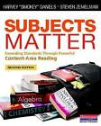 Subjects Matter: Exceeding Standards Through Powerful Content-Area Reading by Harvey  Smokey  Daniels, Steven Zemelman (Paperback / softback, 2014)