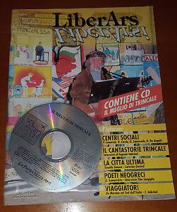 LiberArs-ANNO-2002-N-1-RIVISTA-CD-IL-MEGLIO-DI-TRINCALE-RARISSIMA