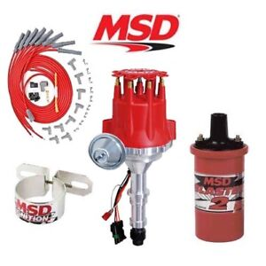 Details about MSD 9918 Ignition Kit Ready to Run Distributor/Wires/Coil  Buick Nailhead 322-425