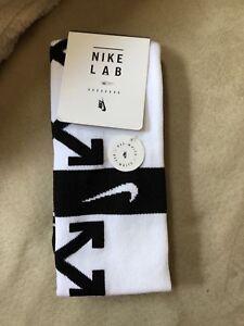 White Nieuwe Nike Off Small xlargeUitverkocht X Nikelab VoetbalsokkenwitMaat PuwTOlkXZi