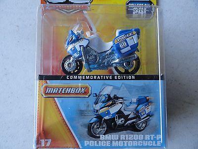MATCHBOX POLICE BMW R1200 RTP MOTORCYCLE