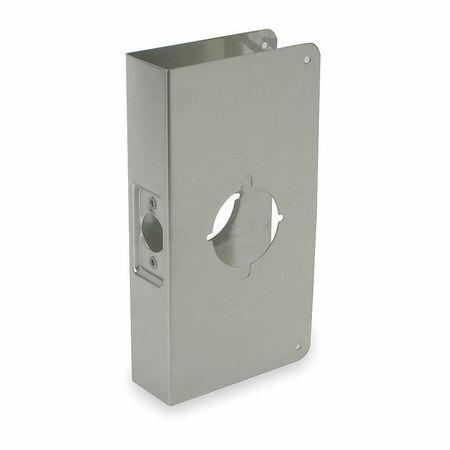 H 9 x W 4-3//4 In ZORO SELECT 2MDN1 Door Reinforcer
