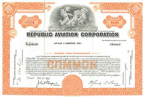 Republic-Aviation-Corporation-gt-Seversky-Aircraft-Corporation-stock-certificate