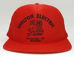 The Shelton Ultra Low Vintage Trucker Cap