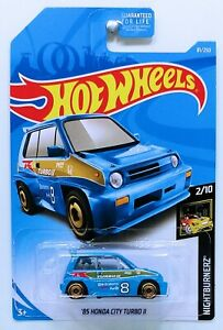 Mattel-Hot-Wheels-039-85-Honda-City-Turbo-II-Nuevo-Sellado