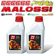 2 LT 2lt of Oil Engine MALOSSI 7 1 Racing for Engines 2t 100