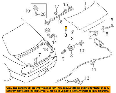 2004-2009 Nissan 350Z Rear Trunk Lid Hatch Lift Spring OEM NEW