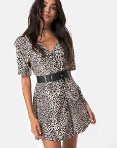 MOTEL-ROCKS-Crosena-Dress-in-Rar-Leopard-Brown-mr91