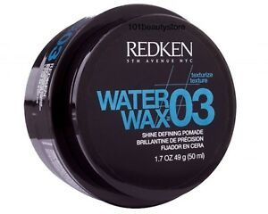 REDKEN-Water-Wax-03-Defining-Pomade-1-7oz-NEW