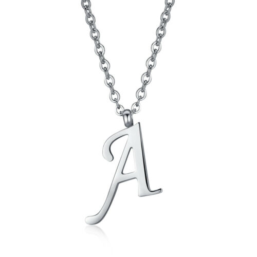 1 Bohemian round pendant letter N crystal AB 18 mm