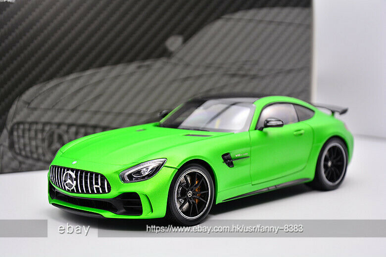 Almost Real 1 18 BENZ GTR AMG Green