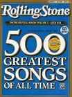 Selections from Rolling Stone Magazine's 500 Greatest Songs of All Time (Instrumental Solos), Vol 2: Alto Sax, Book & CD by Alfred Publishing Co., Inc. (Paperback / softback, 2008)