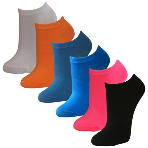12 Paar modische Sneaker Socken für Damen in tollen Farben Qualität von Lavazio®