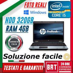 PC-NOTEBOOK-PORTATILE-HP-6550B-15-6-034-CPU-i5-4GB-RAM-320GB-HDD-WIN10-PRO-24H