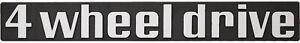 4WD-Auto-Relief-Schild-4-wheel-drive-20-cm-Emblem-3D-HR-14516-selbstklebend