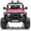 AUTO-ELETTRICA-PER-BAMBINI-MACCHINA-FUORISTRADA-12V-2-POSTI-2WD-CON-TELECOMANDO miniatura 3