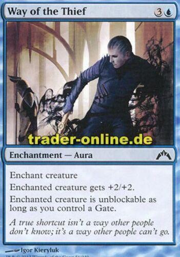 Gatecrash Magic Diebeskarriere 4x Way of the Thief